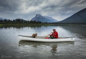 beaver mountie canoe