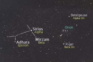 sirius constellation