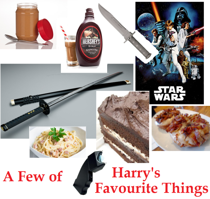 a few of Harry's favourite things