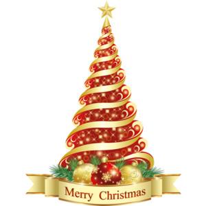 merry xmas tree