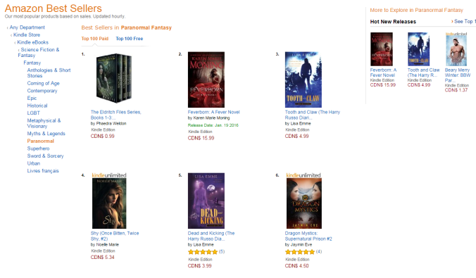 how cool 2 books in Amazonca top 5 Jan 10