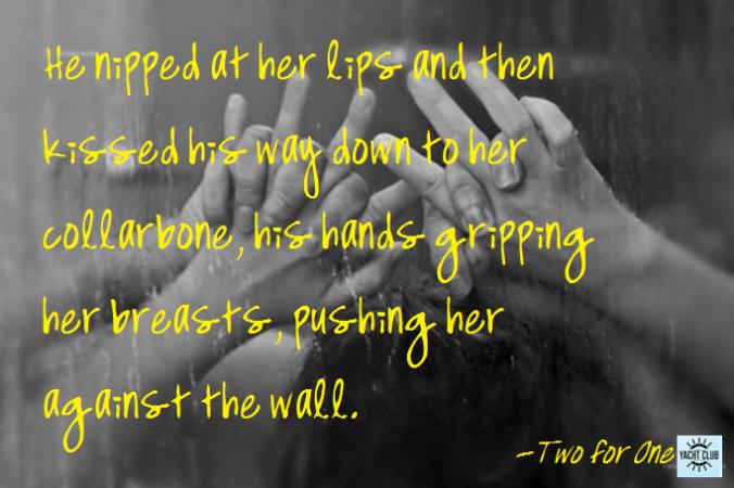 nipped her lips