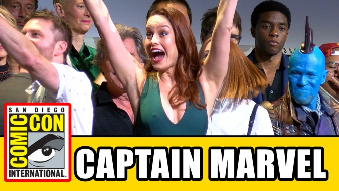 Brie Larson Cpt Marvel