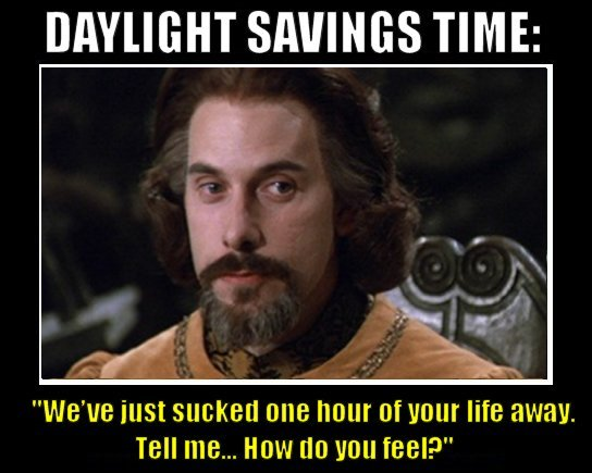 daylight savings sucks