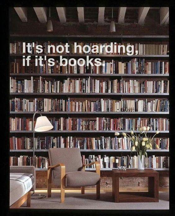 not hoarding